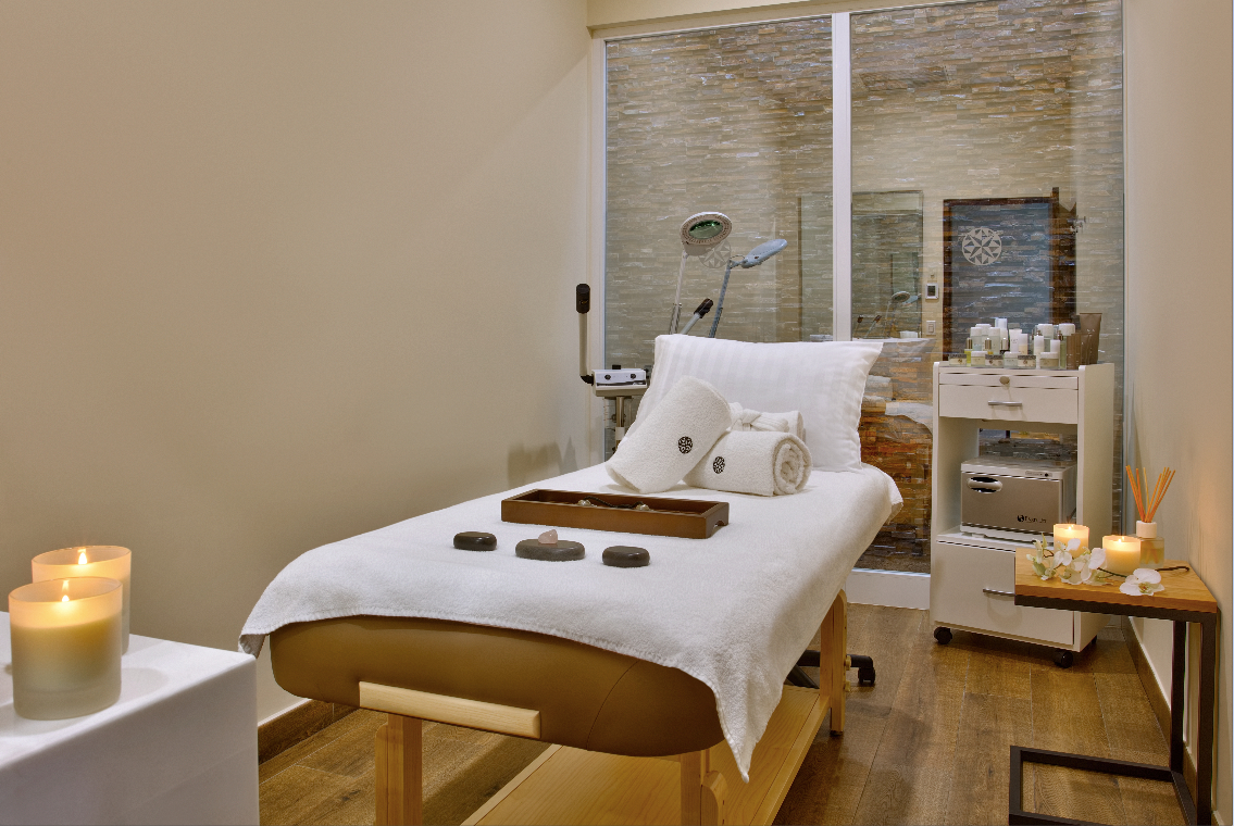 Spa room at Galeria Plaza Irapuato
